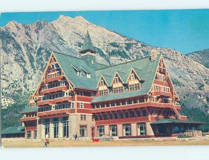 Pre-1980 HOTEL SCENE Waterton Park - Near Lethbridge Alberta AB AE1152