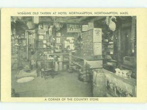 Postcards Sign In To Country Store At Hotel Northampton Massachusetts MA HQ5778