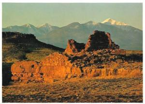 Wupatki National Monument. Box Canyon Ruin,  Flagstaff, Arizona. 1981.  Unused