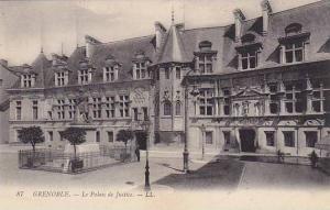 GRENOBLE, La Palais de Justice, Rhone-Alpes, France, 00-10s