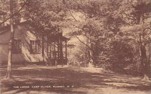 New Hampshire Rumney Camp Oliver The Lodge Artvue