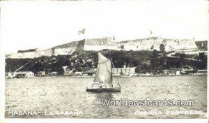 Real Photo Cabana Fortress Habana Cuba, Republica De Cuba Unused