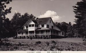 Hideaway Lodge New London New Hampshire 1952