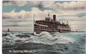 MONTREAL, Quebec, Canada, 1900-1910s; Steamer, The Rapids King