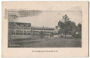 081914 The Pemigewasset 1921 Plymouth NH Vintage Postcard