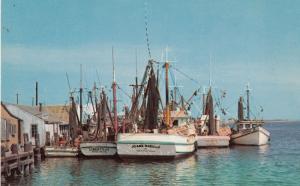ARANSAS PASS , Texas, 50-60s; Fishing Boats