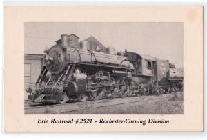 Erie Railroad #2521, Rochester-Corning NY