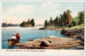 NY - Picturesque America, 1000 Islands