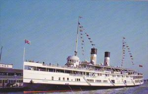 Cayuga Steamship Lines S S Cayuga at Toronto Pier 9