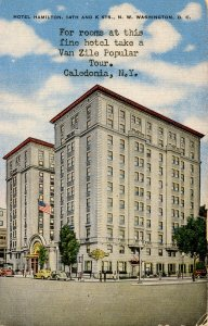 DC - Washington. Hotel Hamilton