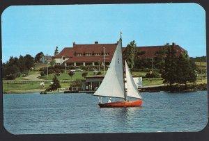Nova Scotia YARMOUTH Lakeside Inn Canadian Pacific Railways Hotel chrome