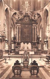 Bruges Belgium, Belgique, Belgie, Belgien Choeur de la Cathedrale Saint Sauve...