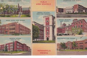 Indiana Indianapolis Public Schools 1950