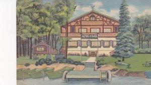 Wisconsin Cambridge Alpine Village Resort Curteich