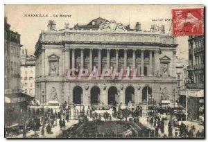 Postcard Old Marseille Bourse