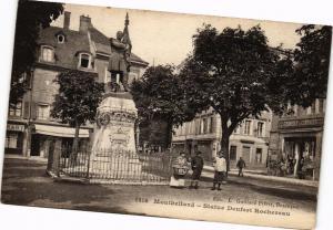 CPA MONTBÉLIARD - Statue Denfert Rochereau (183012)
