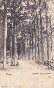 Rempart Des Beguines, LIERRE (Antwerp), Belgium, PU-1907