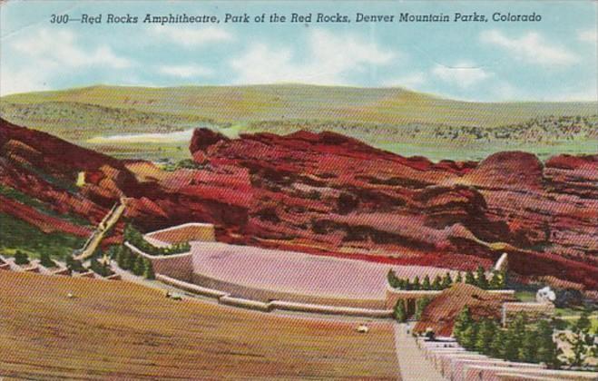 Colorado Denver Mountain Parks Red cRocks Amphitheatre Park Of The red Rocks