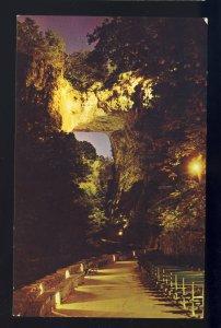 Natural Bridge, Virginia/VA Postcard, Drama Of Creation, New Hotel & Motor Lodge