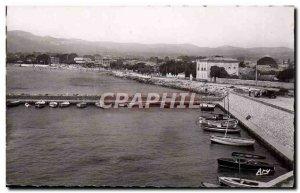 Modern Postcard La Ciotat Port De St Jean And The Beach