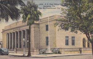 U. S. Post Office, The Air-Conditioned City, Sarasota, Florida, 30-40s
