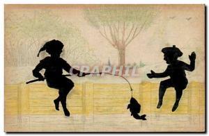 Old Postcard Children