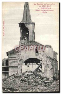 Old Postcard War in Lorraine In Clezentaine Theater of a Violent Fight The Ch...