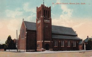MOOSE JAW, Saskatchewan, Canada; St. John's Church, 1900-10s