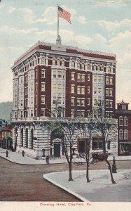 CLEARFIELD, Pennsylvania, PU-1908; Dimeling Hotel