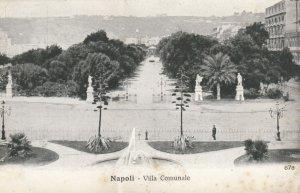 Napoli (Campania), Italy, 00-10s ; Villa Comunale