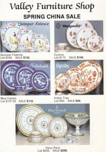 WATCHUNG , New Jersey , 1990s ; Valley Furniture Shop China Sale