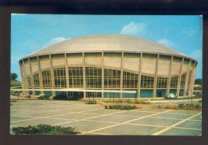 Charlotte, North Carolina/NC Postcard, View Of Charlotte Coliseum, 1950's Cars