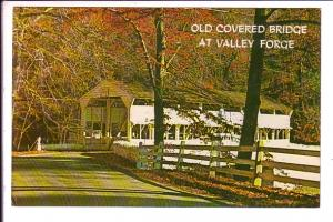 Old Covered Bridge, Valley Forge Park, Pennsylvania