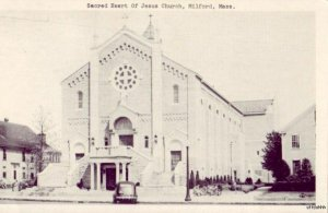 SACRED HEART OF JESUS CHURCH MILFORD, MA