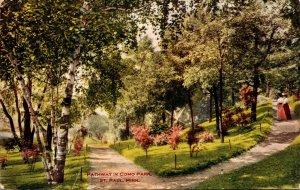 Minnesota St Paul Pathway In Como Park