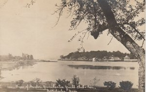 RP: MANCHESTER, Massachusetts, 1900-10s; Harbor, Yacht Club & Pier