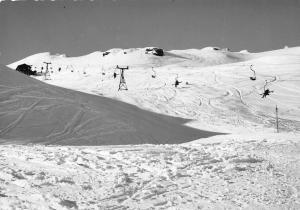 Bad Hofgastein Berg Mountain Winter Chairlift Skiers