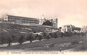Couvent des Pere Blanes et la Cathedral Carthage Africa, Afrika Unused