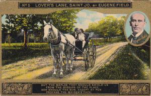 Eugene Field Lover's Lane St Jo Card No 5