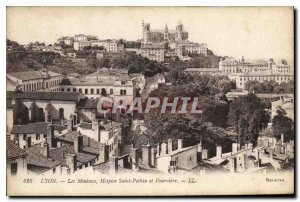 Old Postcard Lyon Les Minimes Hospice Saint Pothinus and Fourviere
