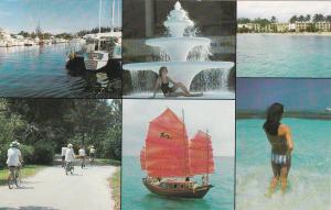 West End Grand Bahama Island, BAHAMAS, 40-60s; 6-Views, Grand Bahama Hotel