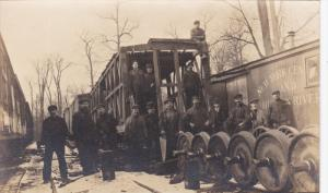 RP: Train Crew , New York Central & Hudson River Railroad , 00-10s