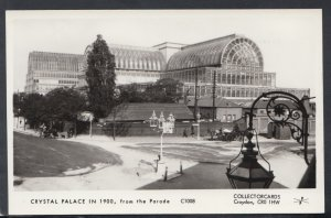London Postcard - Crystal Palace in 1900, From The Parade   HM114
