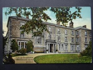 Cumbria GILSLAND Co-operative Convalescent Home c1906 Postcard by Valentine