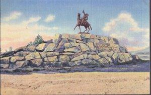 Cody WY - BUFFALO BILL MONUMENT, 1930s