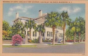Residence of North Carolina's First Governor,  Wilmington,  North Carolina,  ...