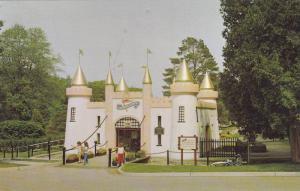 Entrance Castle, Storybook Gardens, London, Ontario, Canada, 50-70s