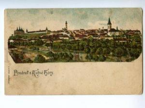 147271 Czech Republic Kutna Hora KUTNE HORY Vintage postcard