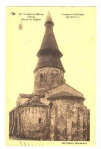 Neris les Bains (Allier), France, PU-1939; Abside de l'Eglise
