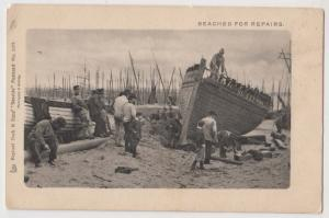 Beached for Repairs / Tuck's 1477